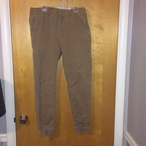 PacSun Pants - Mens Pacsun Bullhead Khaki Jogger Pants